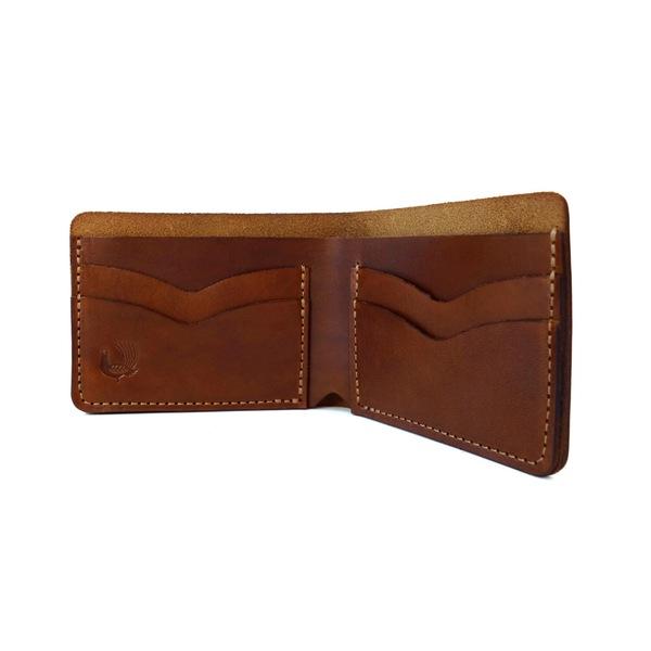 Donovan Bifold Wallet   Saddle Tan