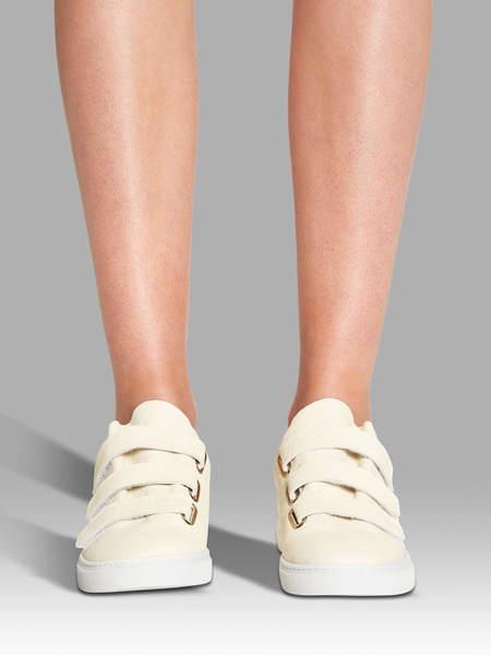 IRO Scratchy Velcro Sneakers - Beige