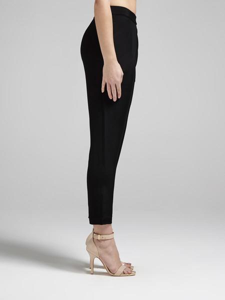 Rebecca Minkoff Grayson Crop Suit Pant - Black