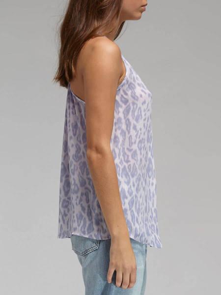 Joie Surla Tank - Lilac Leopard Print