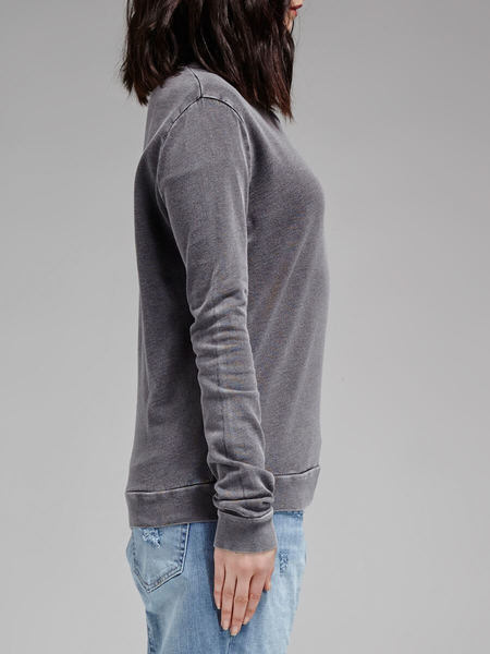 american vintage Citrus State Sweat Top - CHARCOAL GREY