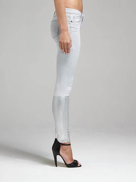 Paige Verdugo Ultra Skinny Jean - Light Grey