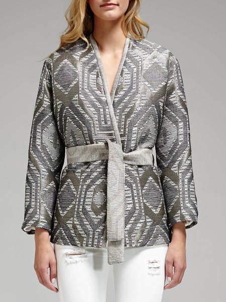 IRO Bianza Jacket - Grey/Gold