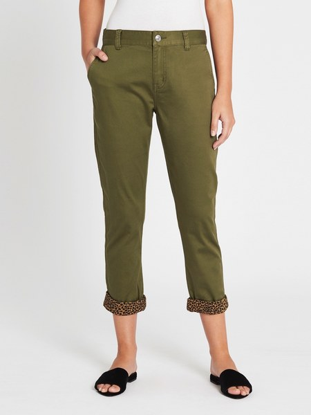 Current Elliott The Confidant Pant - Capulet Olive