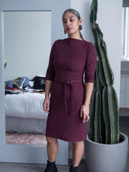 Dagg & Stacey Croix Dress - Berry