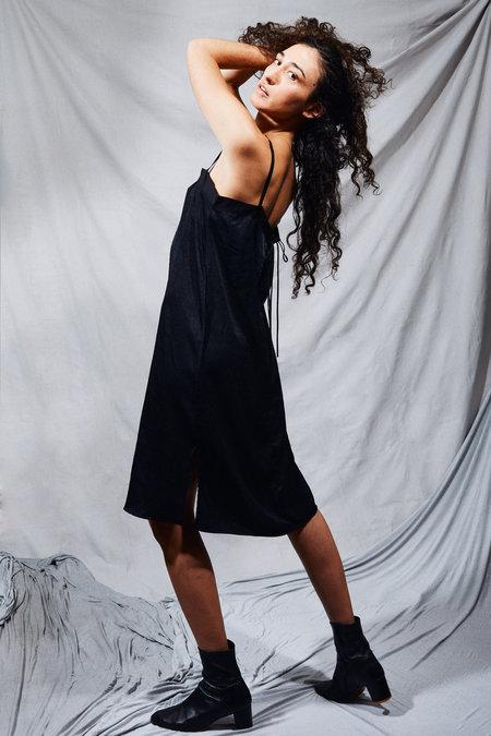Kahle Satin Shift Dress