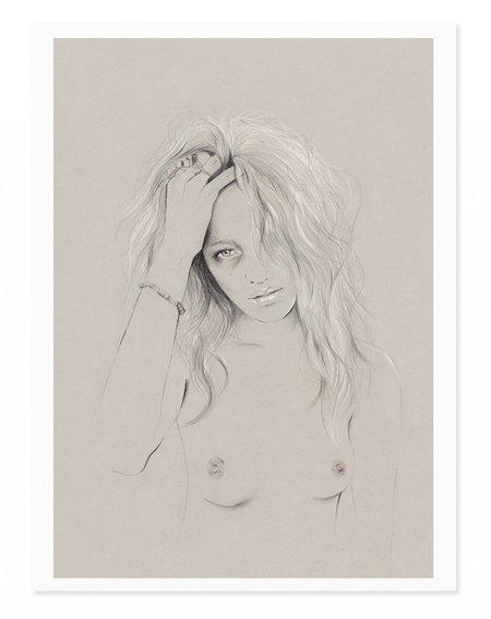 Kelly Thompson #1 Art Print