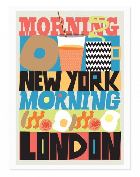 Rude Mornings Art Print