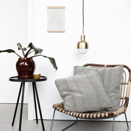 House Doctor Kawa lounge chair - brown