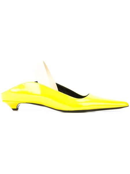 Proenza Schouler Pointed Toe Flat - Yellow