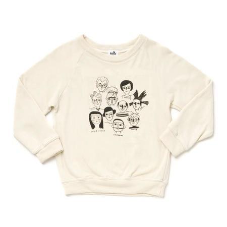 Kira Artists in History Graphic Raglan Sweatshirt