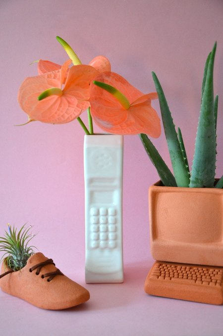 Wyatt Little BRICK PHONE VASE