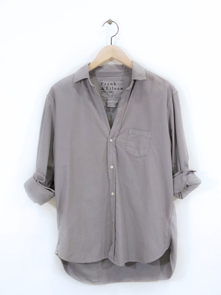 Frank & Eileen Italian Moleskin Eileen shirt - Shadow