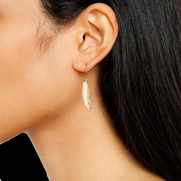 Manon Feather Earrings
