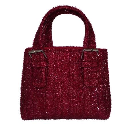 ALFEYA VALRINA Pasar mini tote - Fuzzy Red
