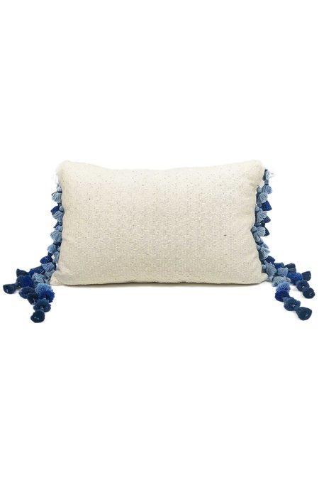 Del Palomar Sky View Tassel Lumbar Pillow