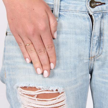 Mociun Oblong Turquoise and Diamond Ring