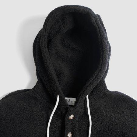 Muttonhead Fleece Camping Hoodie - BLACK