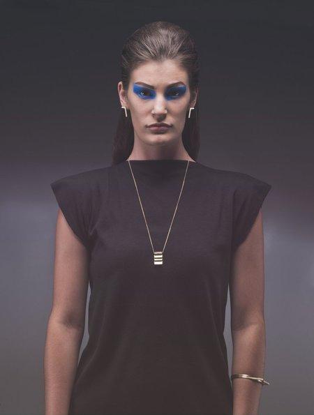 Cradle Dalia Necklace - 14k Gold