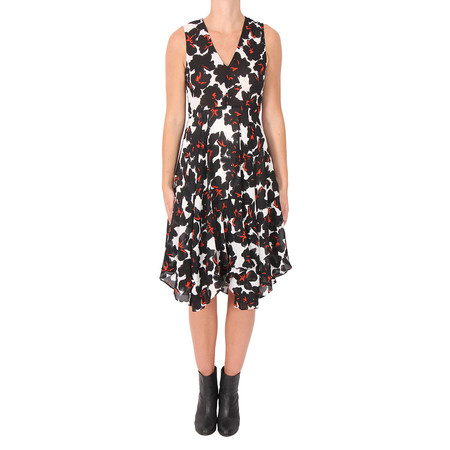 A.L.C. Nello Floral Silk Dress