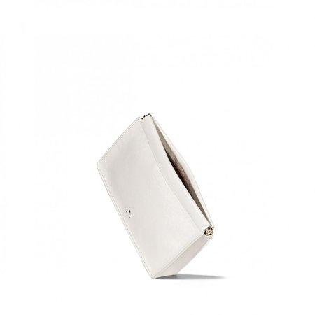 Jerome Dreyfuss Click bag - White Crinkle Clack