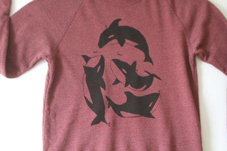 Cairo Orca Sweatshirt - Maroon