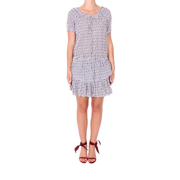 LOVESHACKFANCY Poppy Shibori Dot Dress