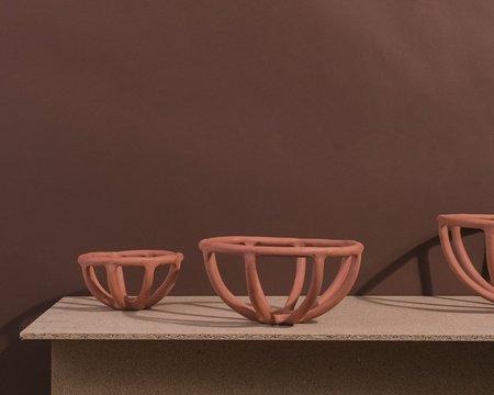 Sin Prong Bowl - terracotta