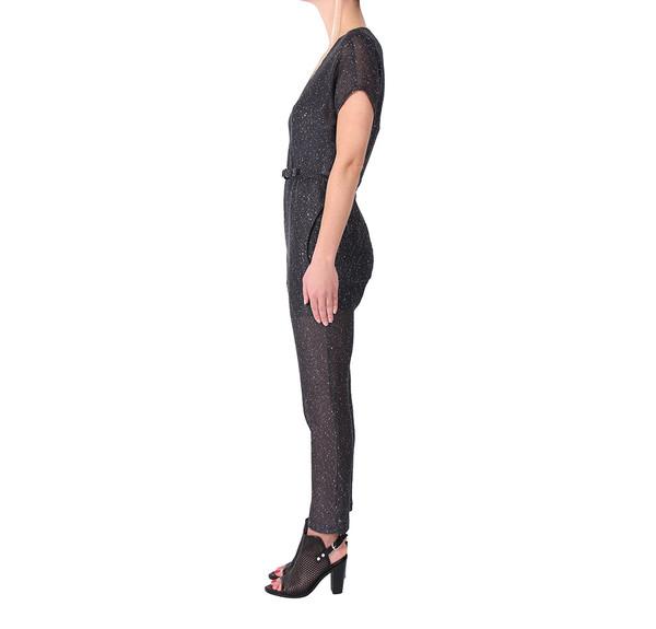 Rachel Comey Glinda Sequin Mesh Jumpsuit