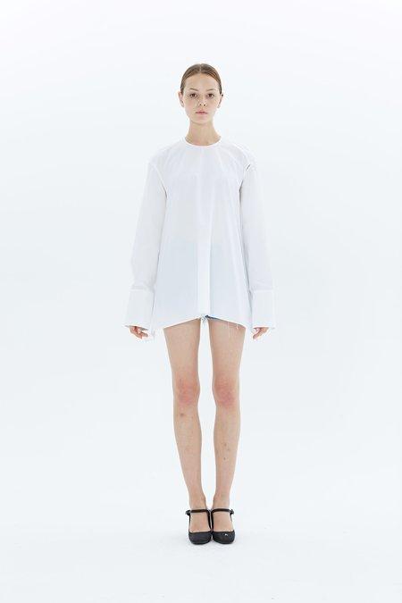 Ports 1961 Long Sleeve Shirt PW417HLS95-FCOU109 - Optic White