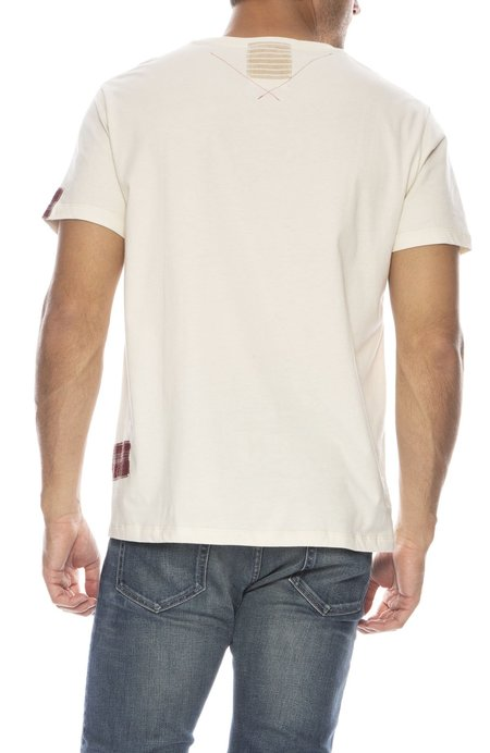 78 STITCHES 2.9 Slouch Tee - OFF WHITE