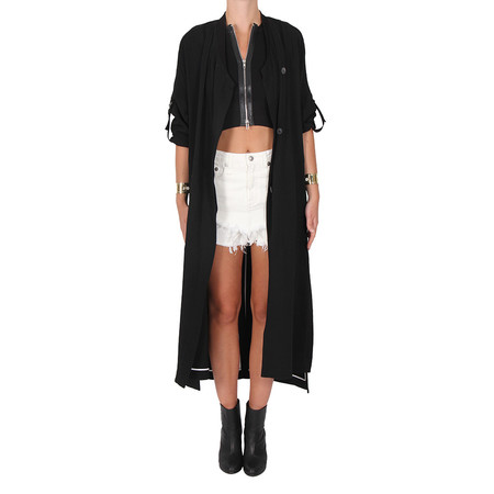 Helmut Lang Torsion Drape Trench
