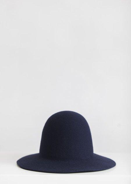 Brookes Boswell Wool Felt Millinery Benning - Navy