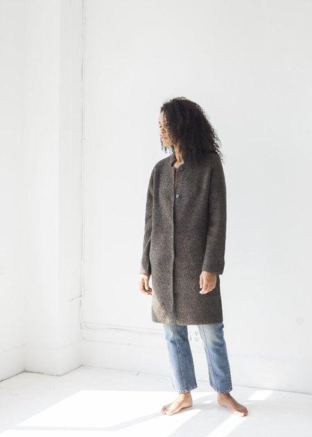 Line Knitwear Stefan Jacket - Granite