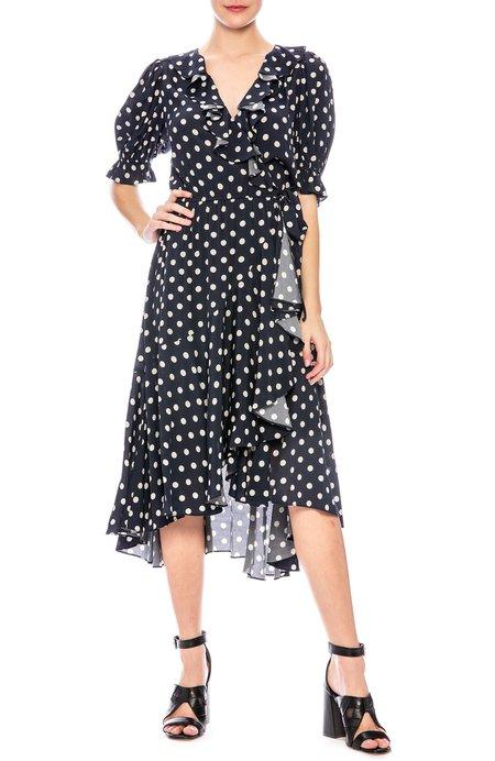 Icons Cha Cha Wrap Dress - Polka Dot