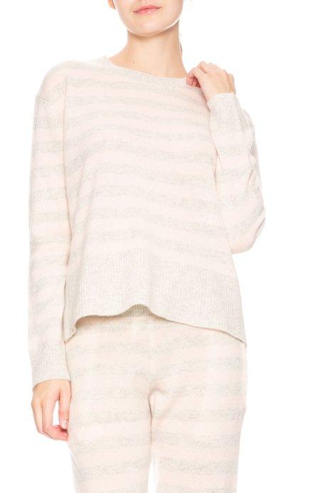 Morgan Lane Charlee Striped Cashmere Sweater