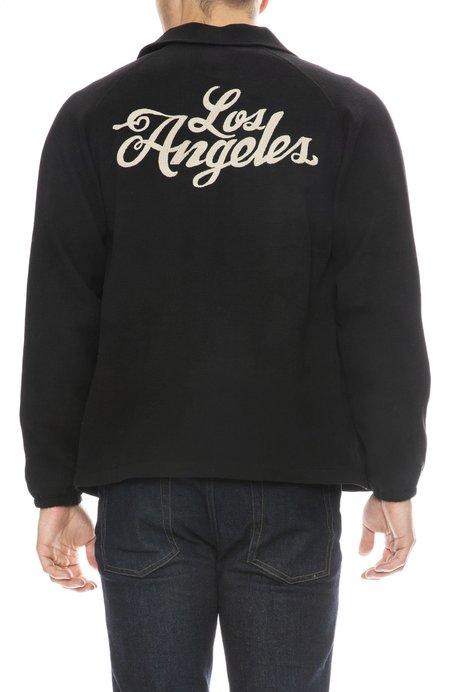 ZIRAN Choaches Los Angeles Chain Stitch Jacket - BLACK