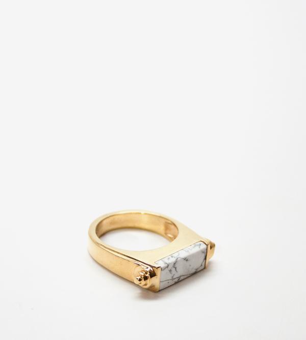 Luz Ortiz Nova Howlite Ring