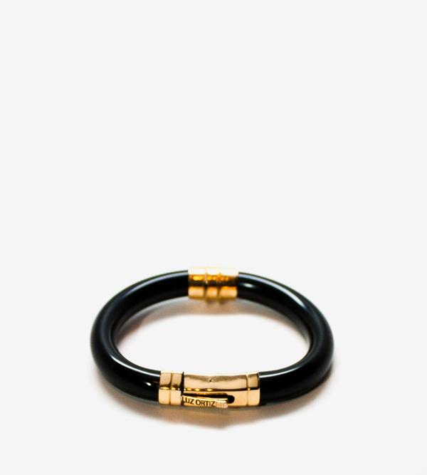Luz Ortiz Ence Black Bracelet