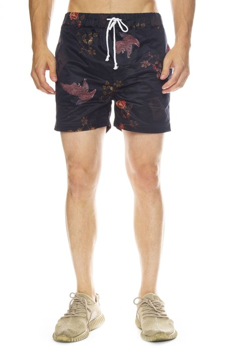 INSTED WE SMILE Cody Simpson Print Shorts