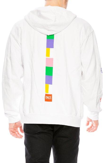 Fact Color Bar Zip-Up Hoodie