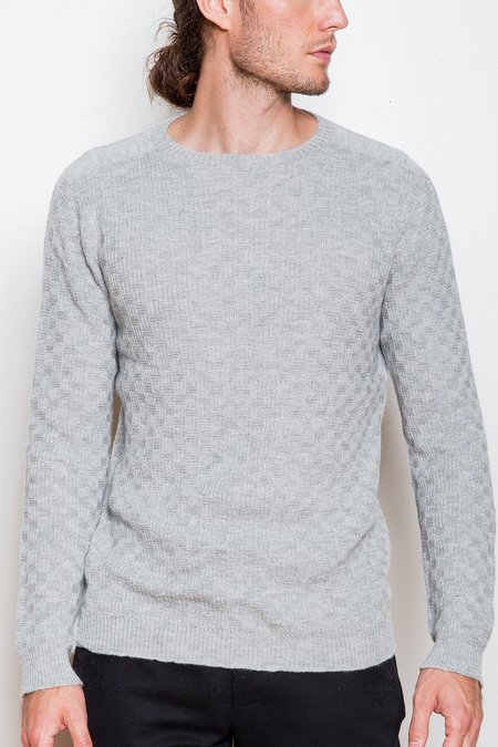 Krammer & Stoudt Merino Wool Sweater - Heather Grey