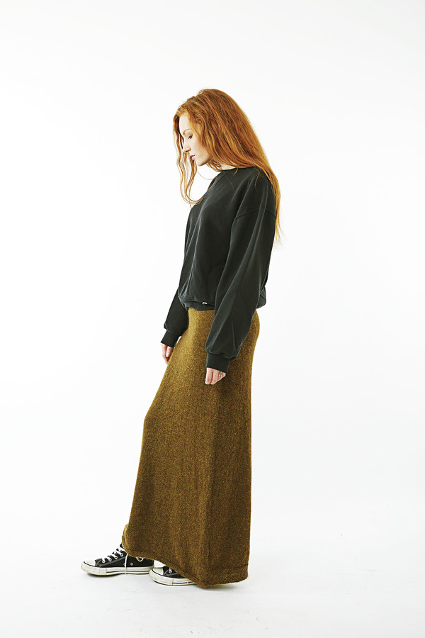 Humanoid Falling Skirt