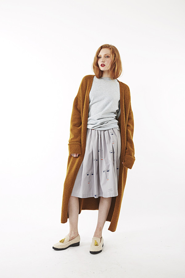 Kowtow On the Surface Skirt | Printed