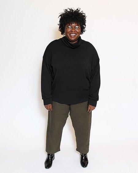 Corinne Ricci HighNeck Tunic - Black