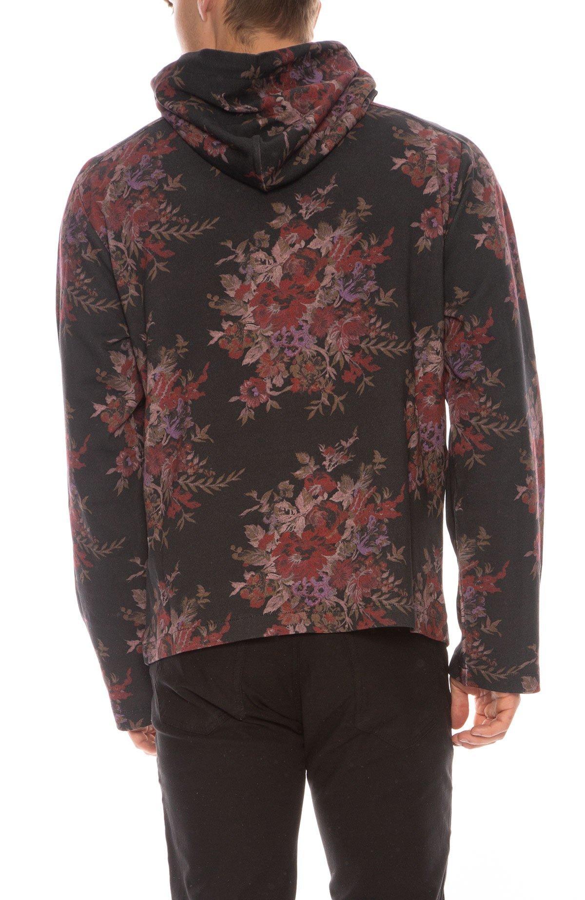 0cc8d4a7 McQ Alexander McQueen Kimono Hoodie - DARK FLORAL | Garmentory