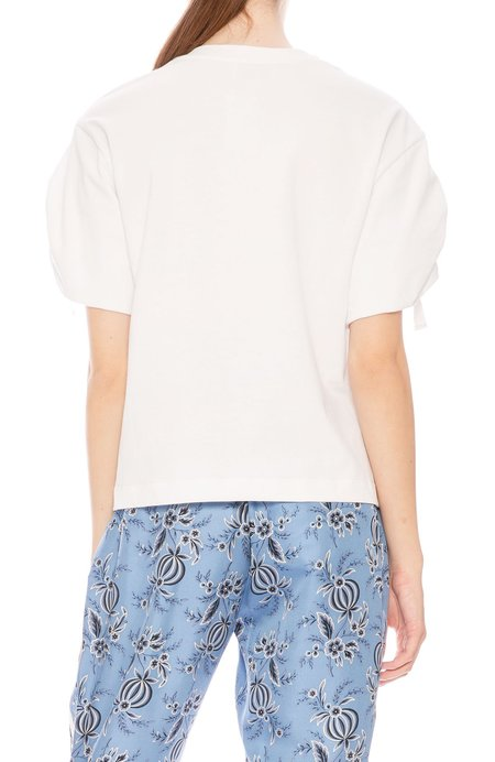 3.1 Phillip Lim Gathered Sleeve T-Shirt
