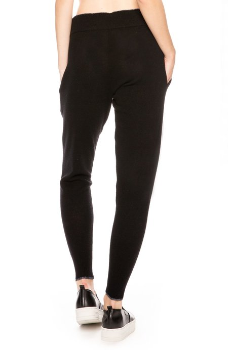 Morgan Lane Hailey Cashmere Pants - Noir