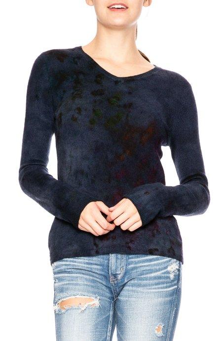 Galadriel Mattei Hanging Garden V Neck Sweater