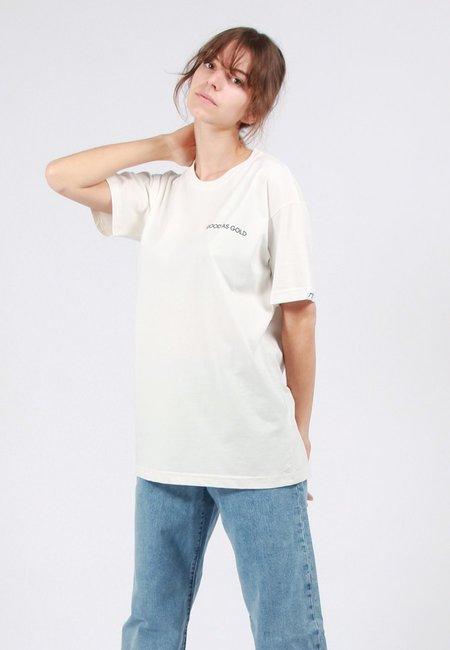 Unisex GOOD AS GOLD Smiley T-Shirt - White
